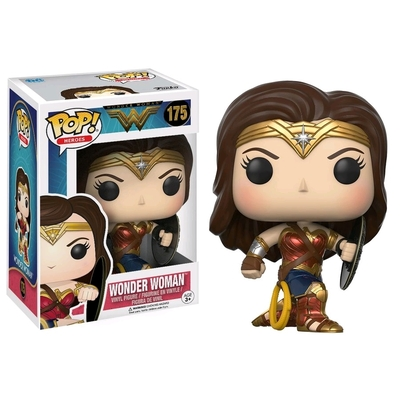 Figurine Wonder Woman Movie Funko POP! Wonder Woman (Battle Pose & Shield) 9cm