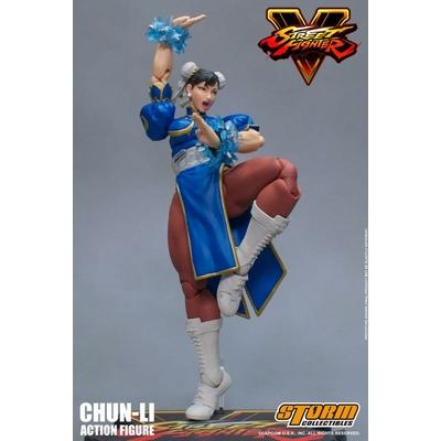 Figurine Street Fighter V Chun-Li 17cm