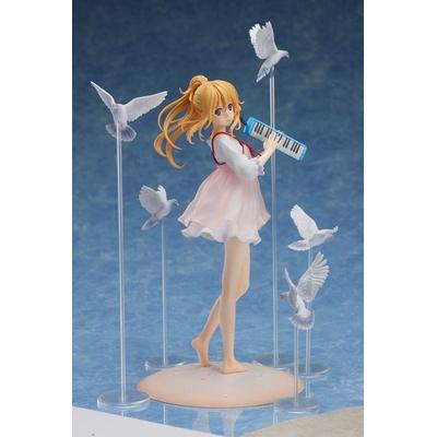 Statuette Your Lie in April Kaori Miyazono Casual Dress Ver. When Kaori met Kousei 20cm