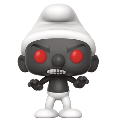 Figurine Les Schtroumpfs Funko POP! Black Smurf 9cm