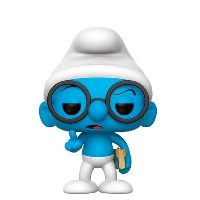 Figurine Les Schtroumpfs Funko POP! Brainy Smurf 9cm