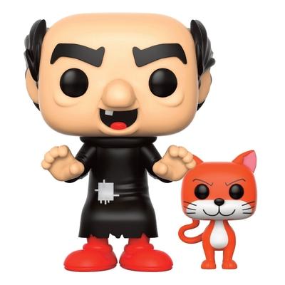 Figurine Les Schtroumpfs Funko POP! Gargamel & Azrael 9cm