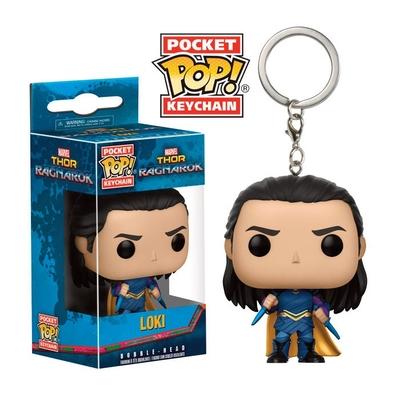 Porte-clés Thor Ragnarok Pocket POP! Loki 4cm