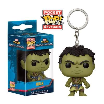 Porte-clés Thor Ragnarok Pocket POP! Casual Hulk 4cm