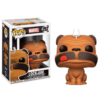 Figurine Inhumains Funko POP! Marvel Bobble Head Lockjaw 9cm