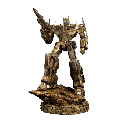 Statuette Transformers Generation 1 Optimus Prime Gold Version 61cm