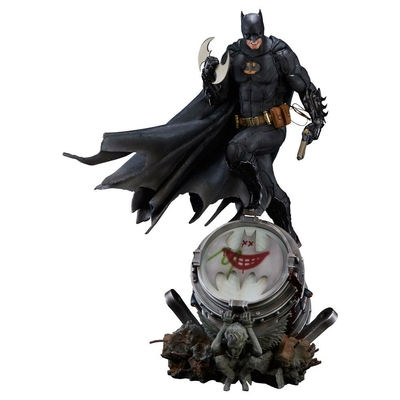 Statuette DC Comics Prime Scale Batman Black Edition 89cm
