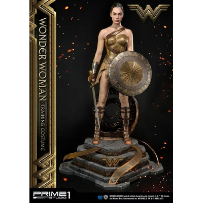 Statuette Wonder Woman Training Costume 79cm