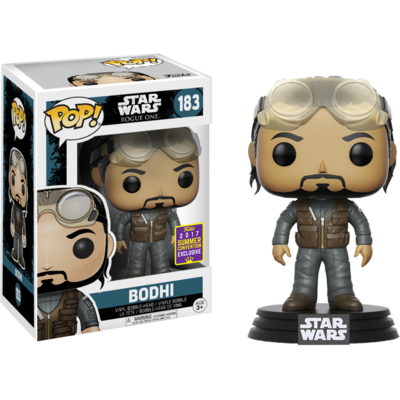 Figurine Star Wars Rogue One Funko POP! Bobble Head Bodhi Summer Convention Exclusive 9cm