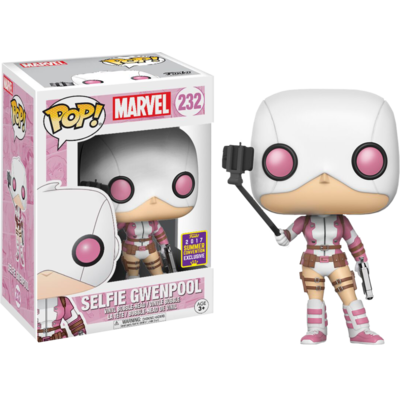 Figurine Marvel Comics Funko POP! Marvel Selfie Gwenpool Summer Convention Exclusive 9cm