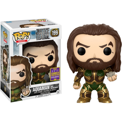 Figurine Justice League Movie Funko POP! Aquaman Summer Convention Exclusive 9cm