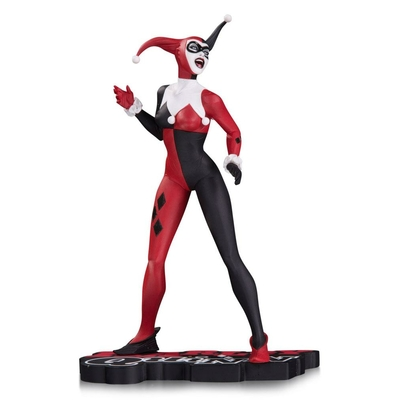 Statuette DC Comics Red White & Black Harley Quinn by Jae Lee SDCC 2017 18cm
