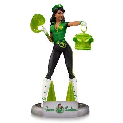 Statuette DC Comics Bombshells Green Lantern Jessica Cruz SDCC 2017 23cm