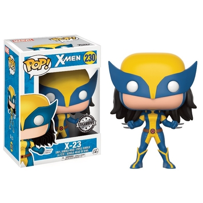 Figurine X-Men Funko POP! Marvel X-23 Bobble Head 9cm
