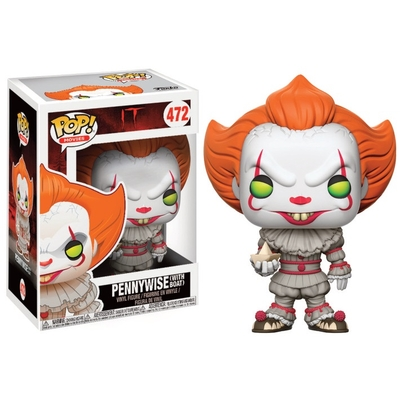 Figurine Ça Funko POP! Pennywise (with Boat) 9cm