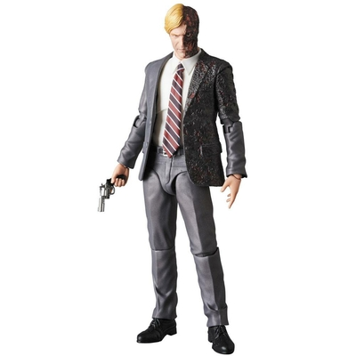Figurine Batman The Dark Knight Rises Medicom MAF Harvey Dent Two Face 16cm