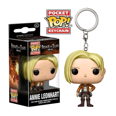 Porte-clés Attack on Titan Pocket POP! Annie Leonhart 4cm