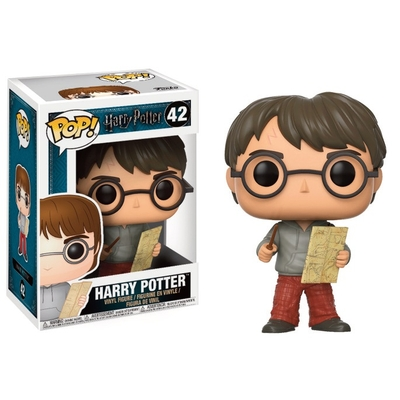 Figurine Harry Potter Funko POP! Harry Potter with Marauders Map 9cm
