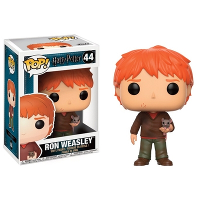 Figurine Harry Potter Funko POP! Ron Weasley with Scabbers 9cm