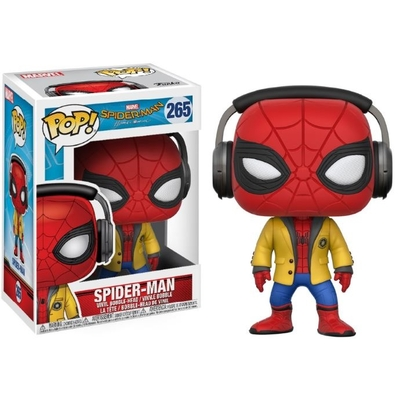 Figurine Spider-Man Homecoming Funko POP! Marvel Spider-Man Headphones 9cm