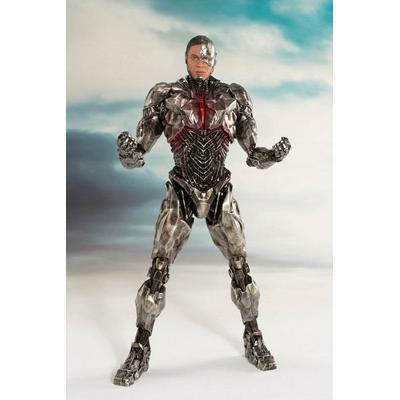 Statuette Justice League Movie ARTFX+ Cyborg 20cm