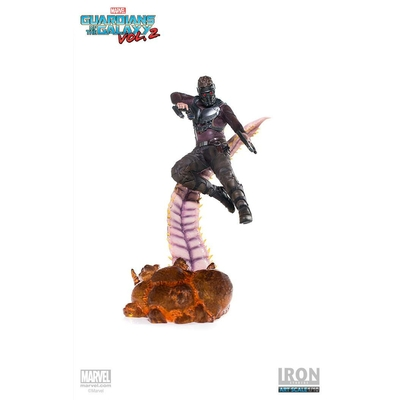 Statuette Guardians of the Galaxy Vol. 2 Battle Diorama Series Star-Lord 26cm