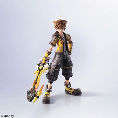 Figurine Kingdom Hearts III Bring Arts Sora Guardian Form Version 16cm