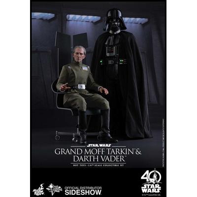 Pack 2 Figurines Star Wars Episode IV Movie Masterpiece Vader & Tarkin