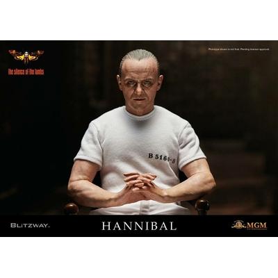 Figurine Le Silence des agneaux Hannibal Lecter White Prison Uniform Ver. 30cm