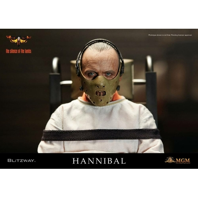 Figurine Le Silence des agneaux Hannibal Lecter Straitjacket Ver. 30cm