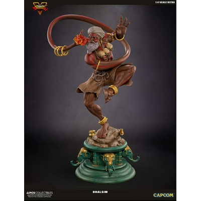 Statuette Street Fighter V Ultra Dhalsim Retail Version 62cm