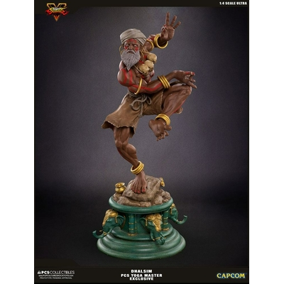 Statuette Street Fighter V Ultra Dhalsim Yoga Master Exclusive 62cm