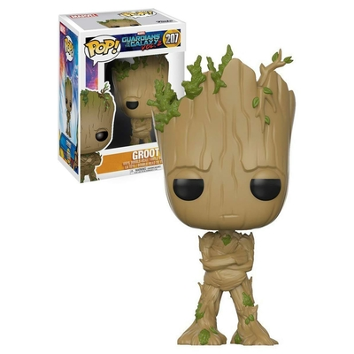 Figurine Les Gardiens de la Galaxie 2 Funko POP! Bobble Head Teenage Groot 9cm