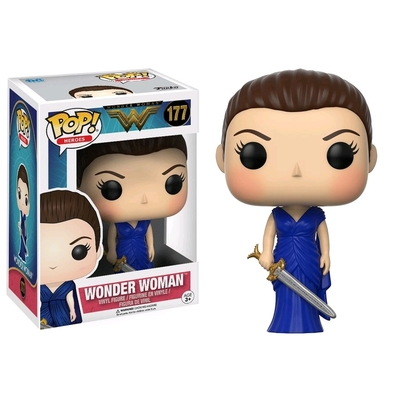 Figurine Wonder Woman Movie Funko POP! Wonder Woman Blue Gown 9cm