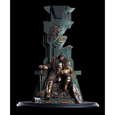 Statue Le Hobbit La Bataille des Cinq Armées King Thorin on Throne 46cm