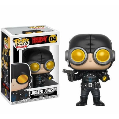 Figurine Hellboy Funko POP! Lobster Johnson 9cm