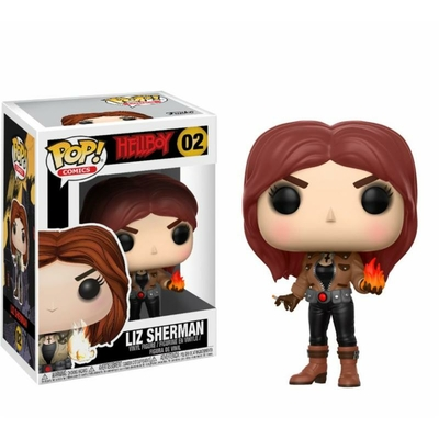Figurine Hellboy Funko POP! Liz Sherman 9cm