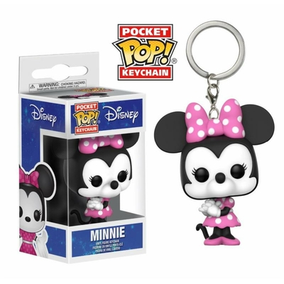 Porte-clés Disney Pocket POP! Minnie Mouse 4cm