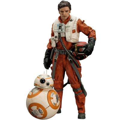 Pack statuettes Star Wars Episode VII ARTFX+ Poe Dameron & BB-8