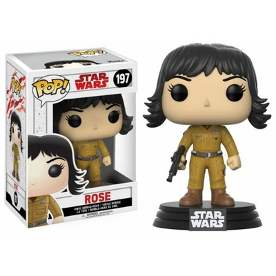 Figurine Star Wars Episode VIII Funko POP! Bobble Head Rose 9cm