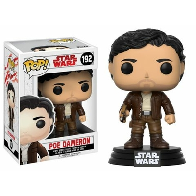 Figurine Star Wars Episode VIII Funko POP! Bobble Head Poe Dameron 9cm