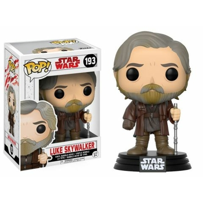 Figurine Star Wars Episode VIII Funko POP! Bobble Head Luke Skywalker 9cm