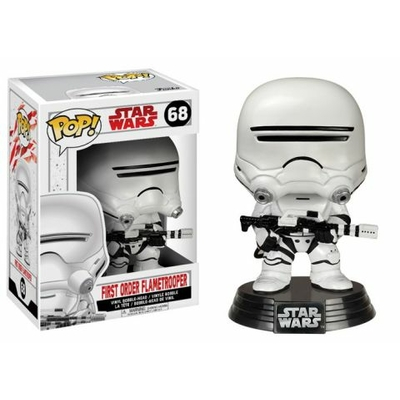 Figurine Star Wars Episode VIII Funko POP! Bobble Head First Order Flametrooper 9cm