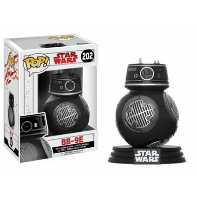 Figurine Star Wars Episode VIII Funko POP! Bobble Head BB-9E 9cm