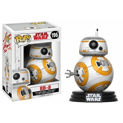 Figurine Star Wars Episode VIII Funko POP! Bobble Head BB-8 9cm