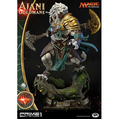 Statuette Magic The Gathering Premium Ajani Goldmane 72cm