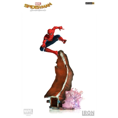 Statuette Spider-Man Homecoming Battle Diorama Series Spider-Man 26cm
