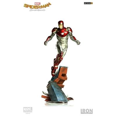 Statuette Spider-Man Homecoming Battle Diorama Series Iron Man Mark XLVII 29cm