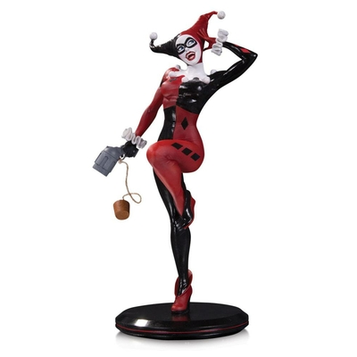 Statuette DC Comics Cover Girls Harley Quinn by Joelle Jones 28cm 1001 Figurines