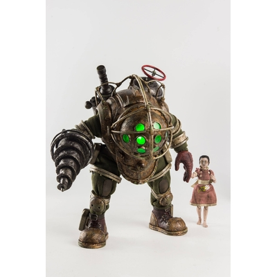 Pack figurines BioShock Big Daddy & Little Sister 32cm